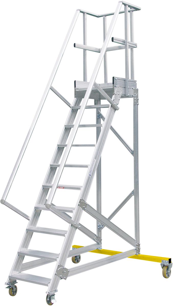 Hymer Podesttreppe fahrbar 60° - 600 mm breit