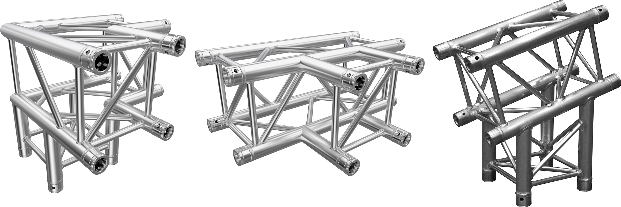 Global Truss F34 3-Weg Ecke Prolyte