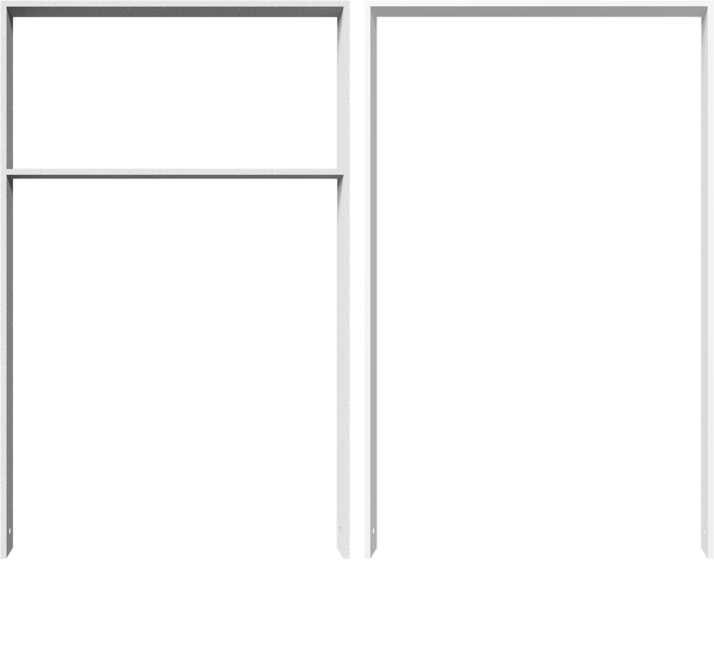 Schake Anlehnbügel Flachstahl 80 x 12 mm verzinkt