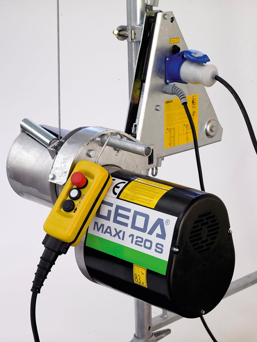 GEDA Seilwinde Maxi 120 S 25