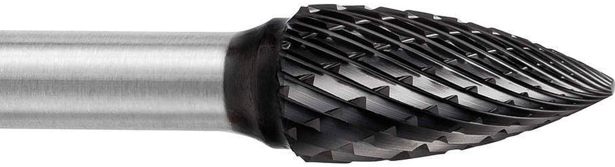 procut Hartmetallfrässtift -TiAlN beschichtet- Zylinderform ohne Stirnverzahnung