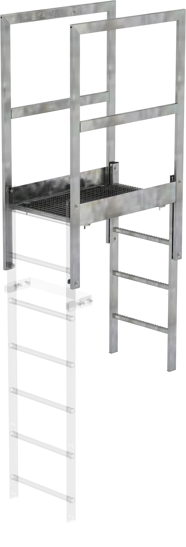 Günzburger Attika-Überstieg Stahl