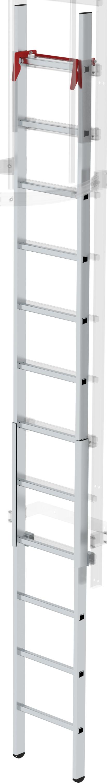 Günzburger Aluminium-Notabstiegsleiter - 12 Sprossen