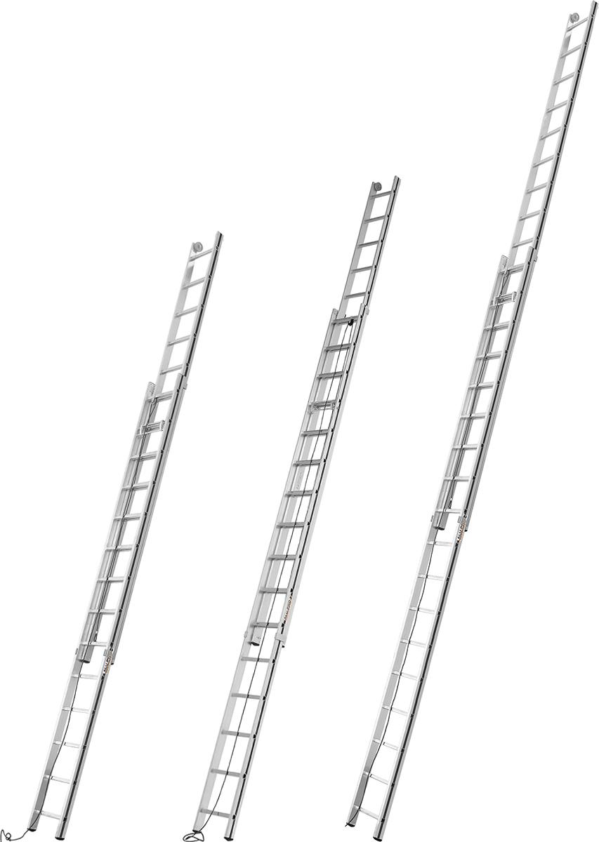 Hymer Alu-Pro Seilzugleiter 2-teilig 2x12 - 2x18 Sprossen