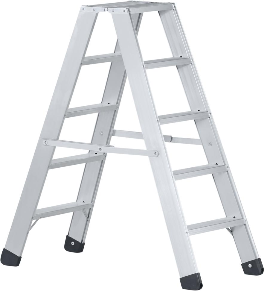 ZARGES Stufen Stehleiter Seventec B - 2x6 Stufen