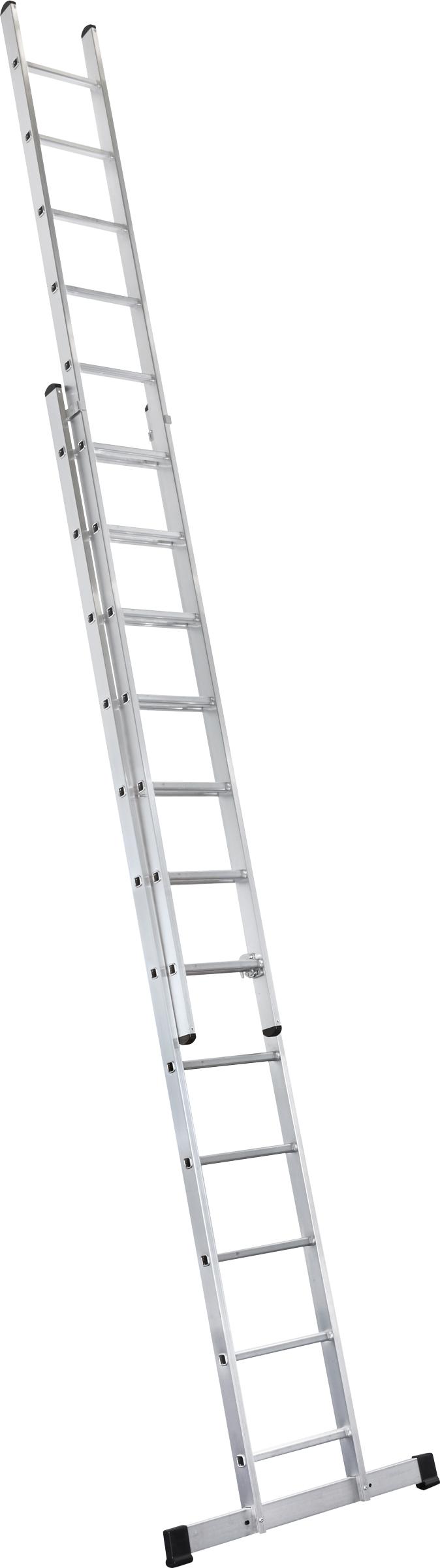 ZARGES Leiter Schiebeleiter Everest 2E - 2x18 Sprossen
