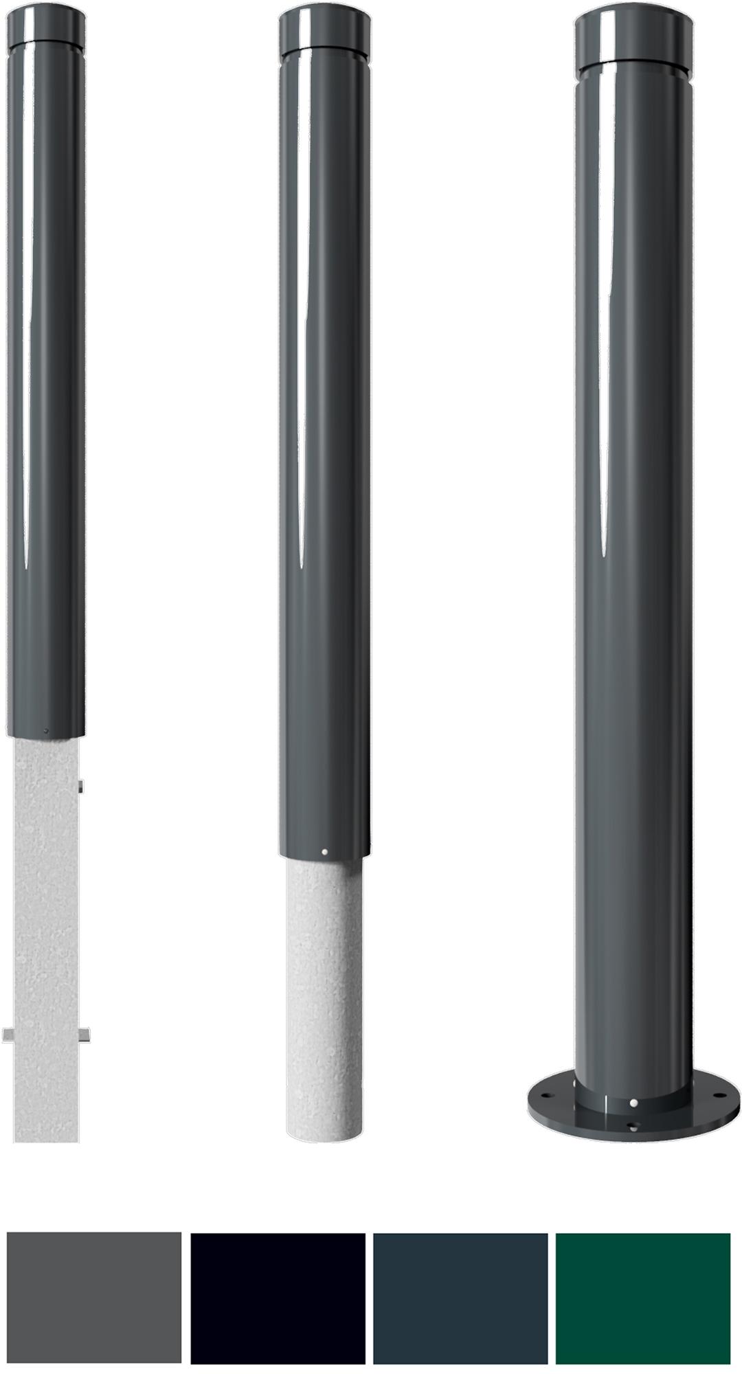 Schake Stilpoller 40101 Alu Ø 100 mm