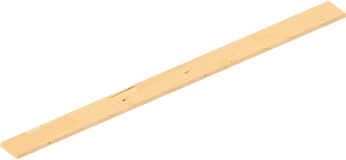 Schake Holz Bordbrett 2500 mm