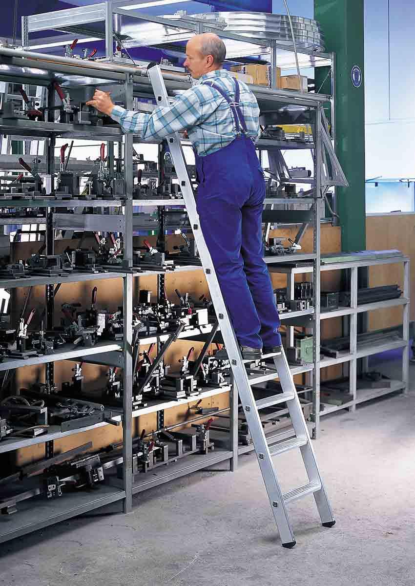 euroline Regalleiter einhängbar PREMIUM Alu Stufen