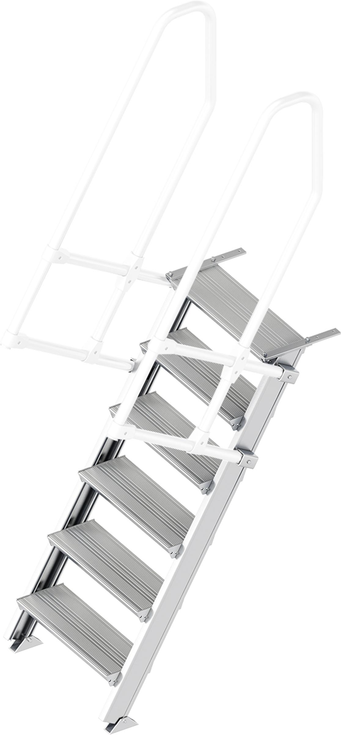 Layher Treppe 60° 6 Stufen - 600 mm breit