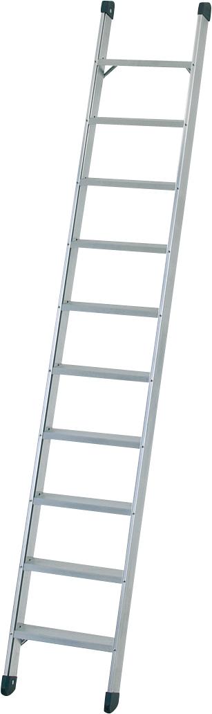 ZARGES Leiter Anlegeleiter Seventec L - 14 Stufen