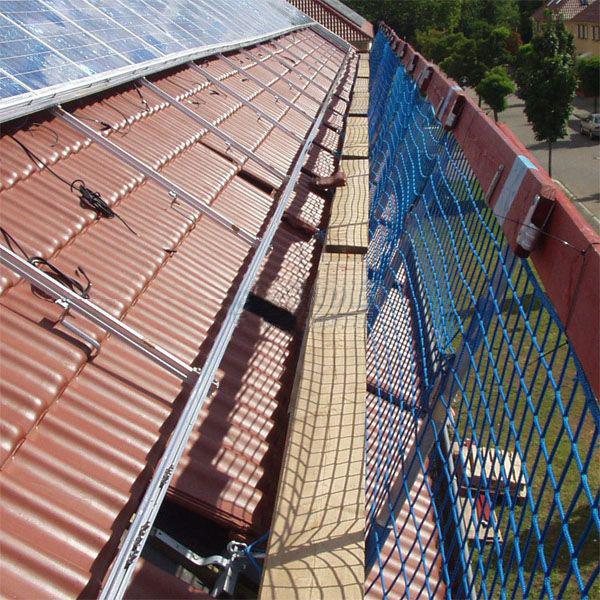 Layher Solarbauer-Schutzwand