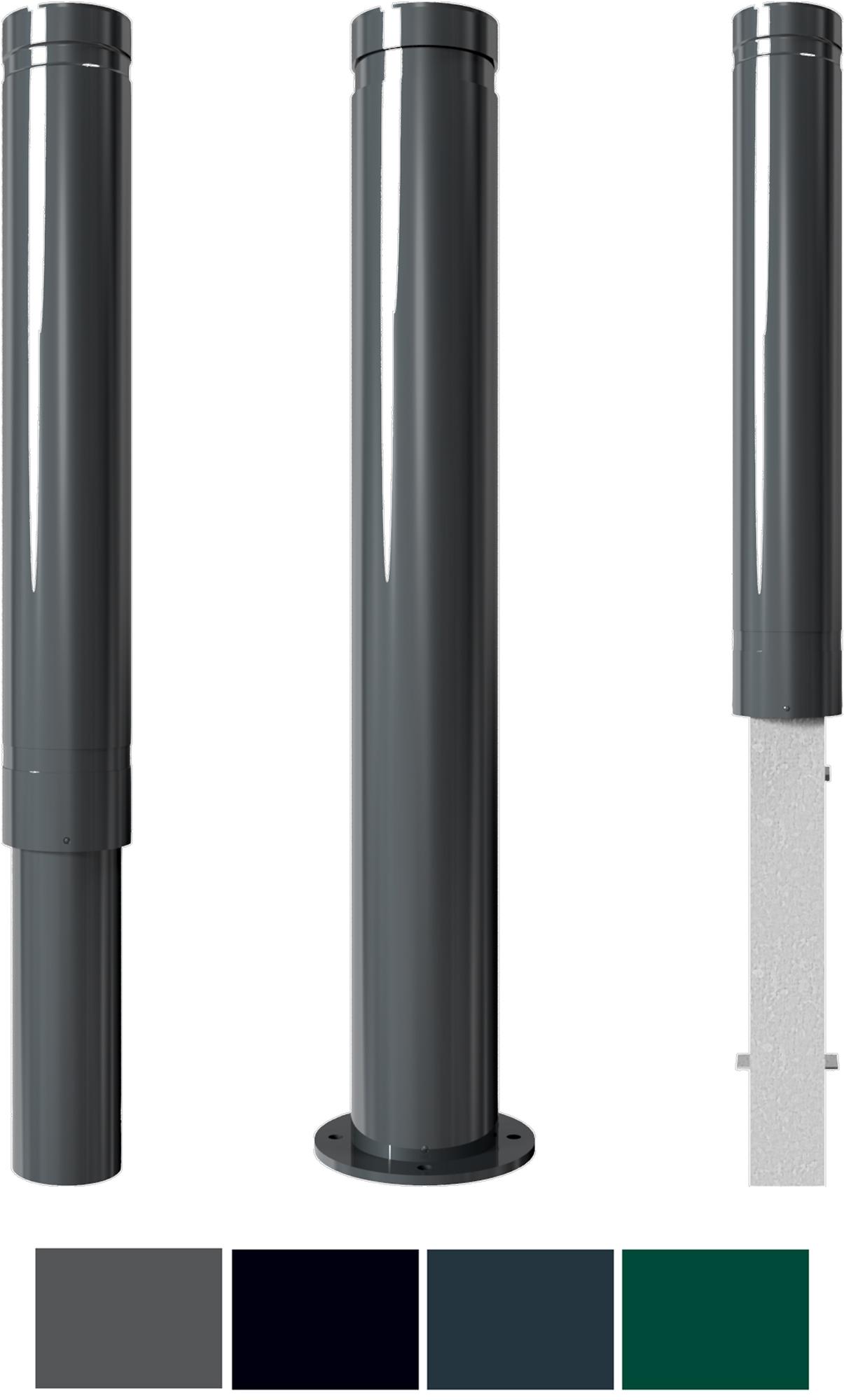 Schake Stilpoller 40120|40121 Alu Ø 120 mm