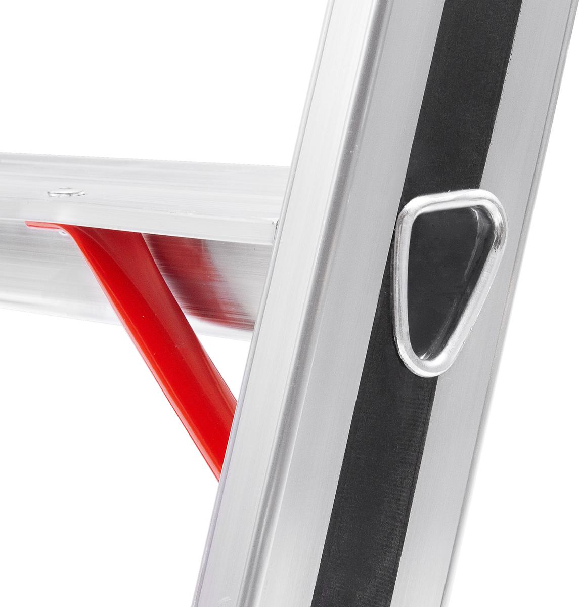 Hymer Alu-Pro Stehleiter 5 Stufen