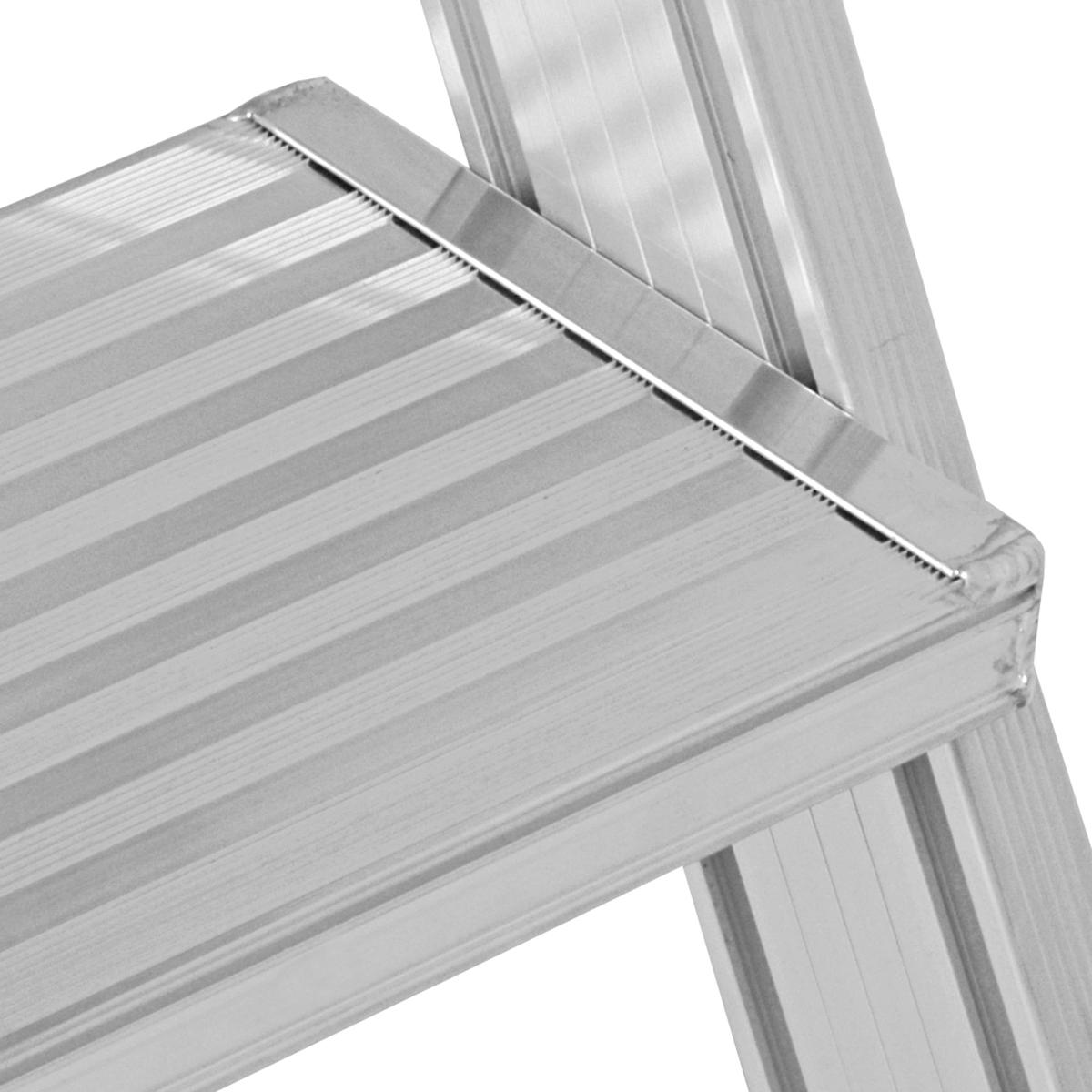 Hymer Podesttreppe fahrbar 2x6 Stufen