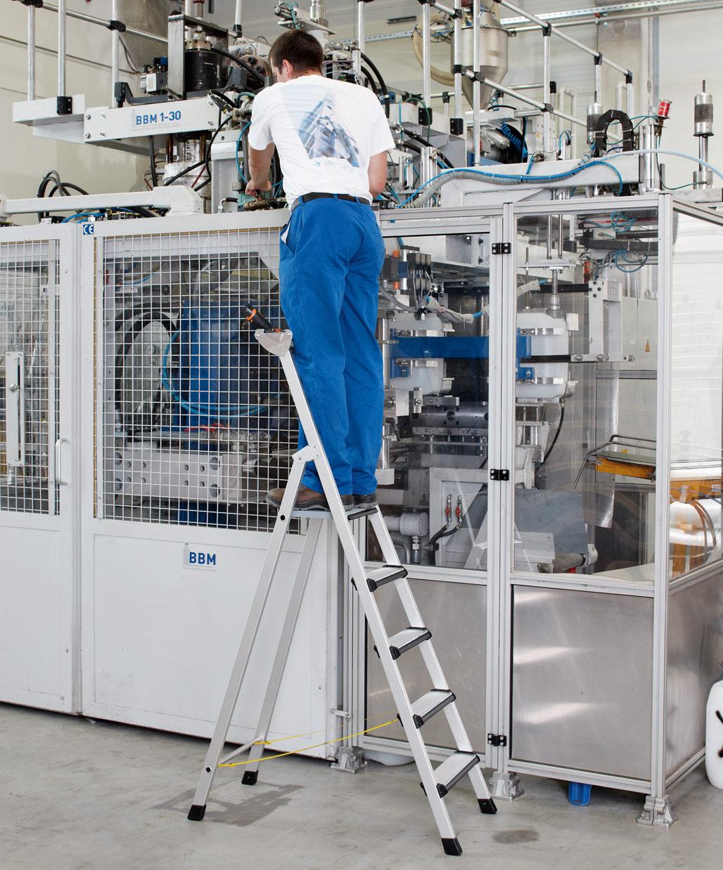 ZARGES Stufen Stehleiter Comfortstep S - 10 Stufen