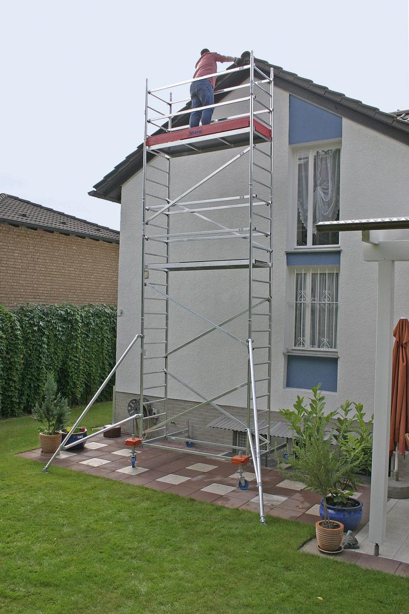 Rollgerüst Krause Monto ProTec 0,70x2,00m - AH 7,30m