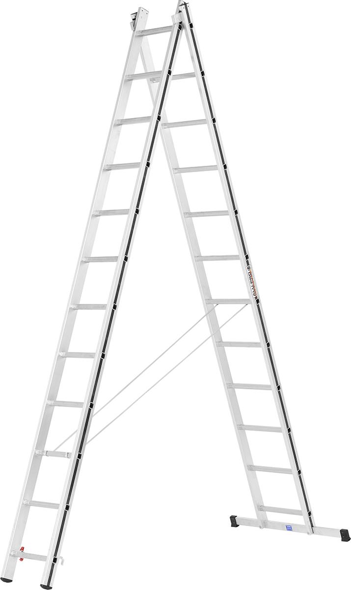 Hymer Alu-Pro Mehrzweckleiter 2-teilig 2x12 Sprossen