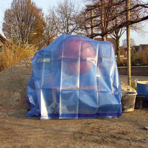 Abdeckplane 220 g|m² - 3,00 x 4,00 m blau