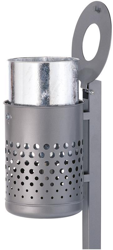 Schake Stand-Abfallbehälter rund - 50 Liter
