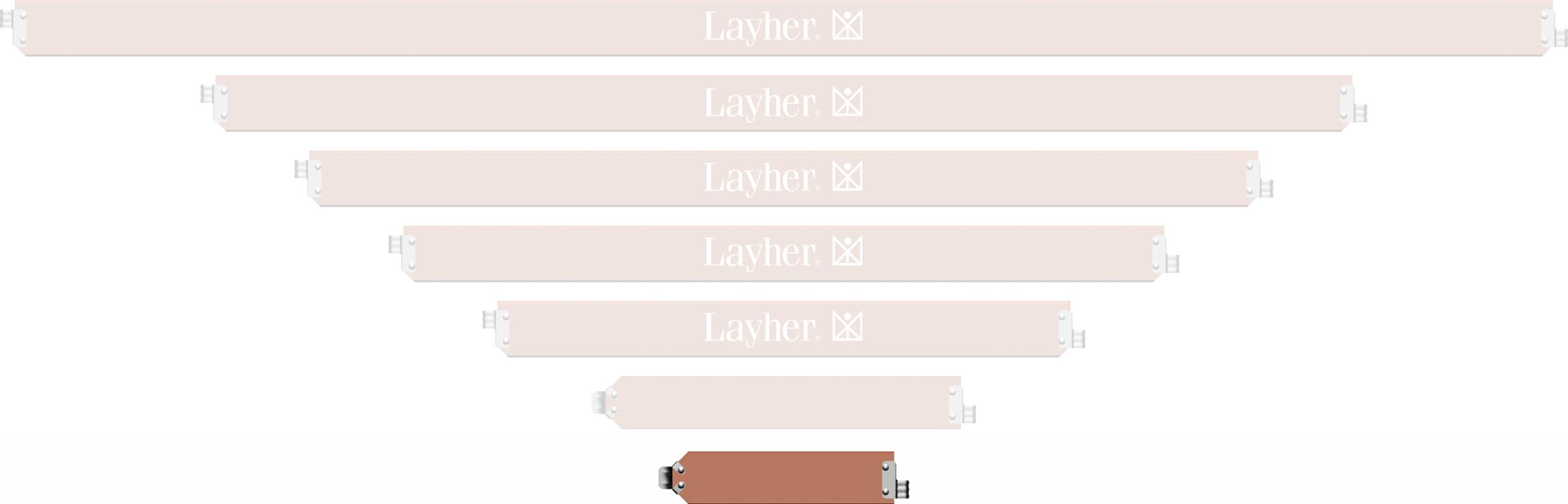 Layher Blitz Bordbrett Längsseite 0,73 m