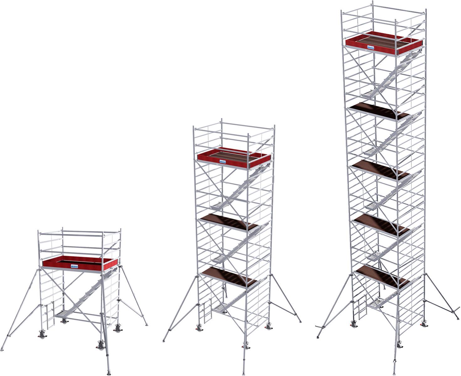 Fahrgerüst Krause Treppengerüst Stabilo Serie 5500 Alu 1,50x2,00m