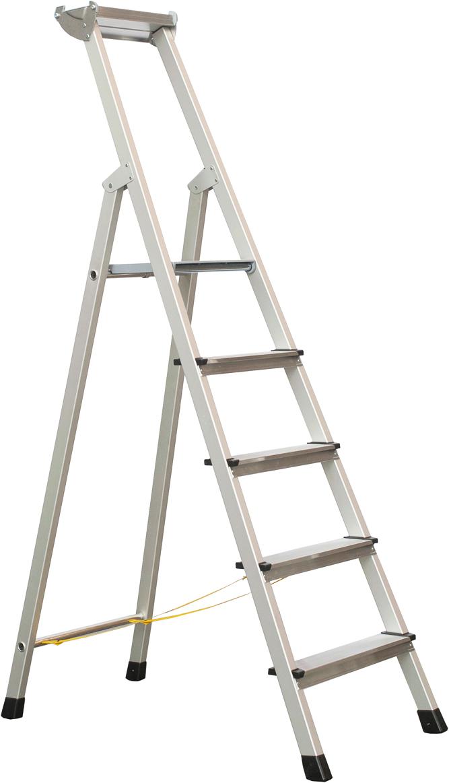 ZARGES Stufen Stehleiter XLstep S - 5 Stufen