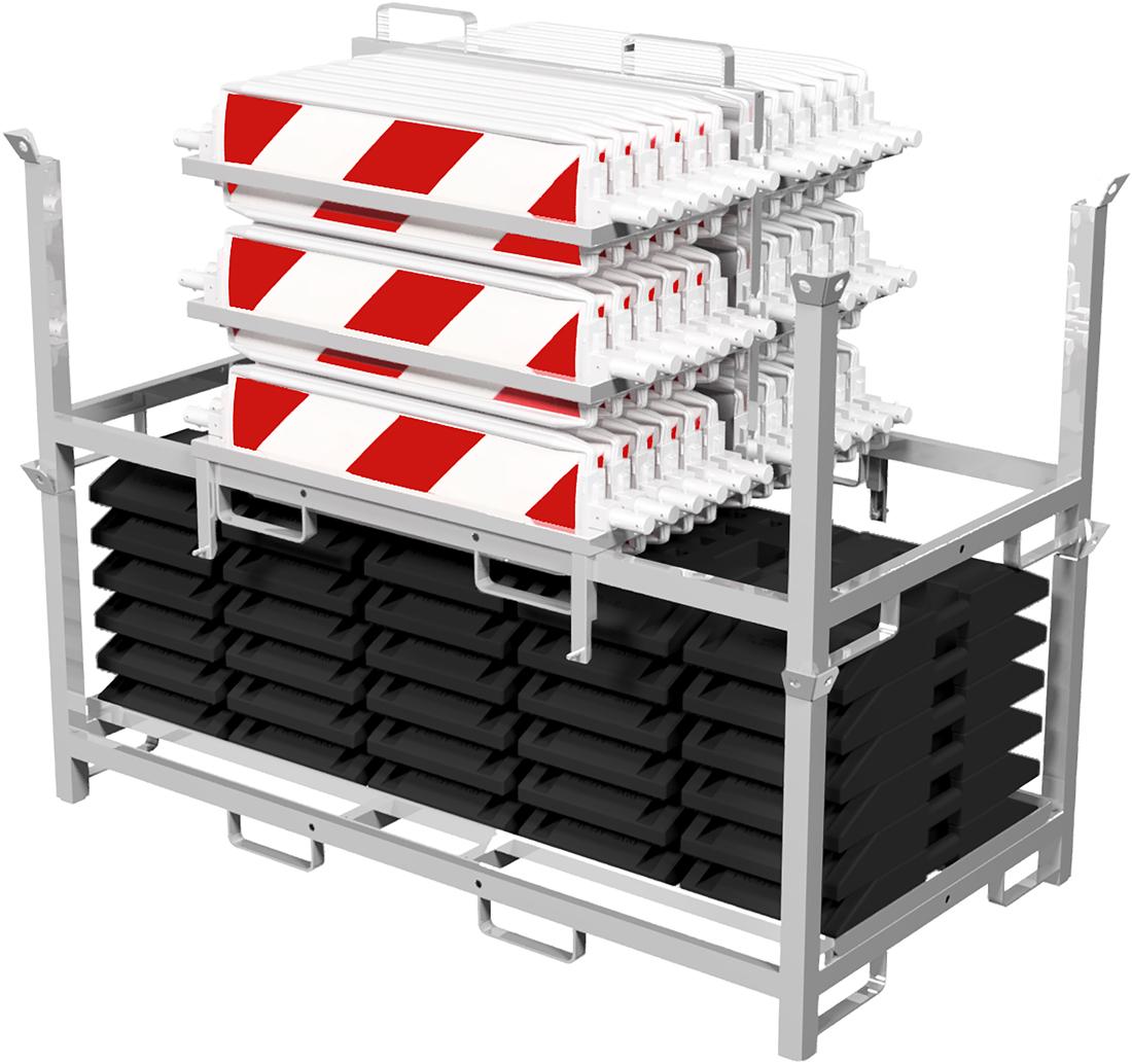 Schake Baken Set mit Transporttraverse und Aufsatzteil