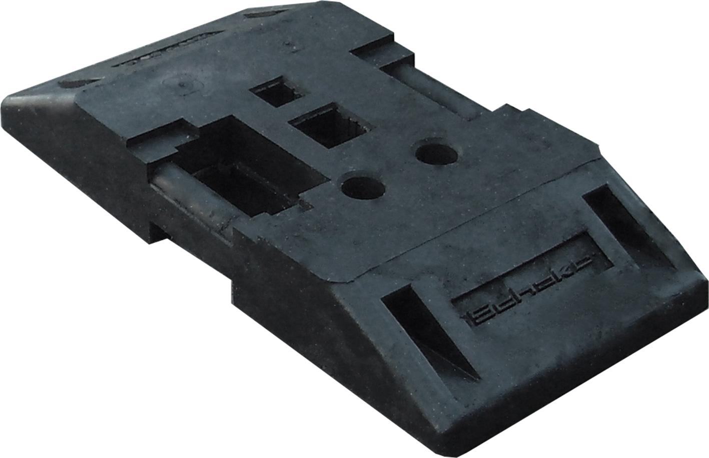 Schake TL-Fußplatte nach K1 - 800 x 400 x 120 mm