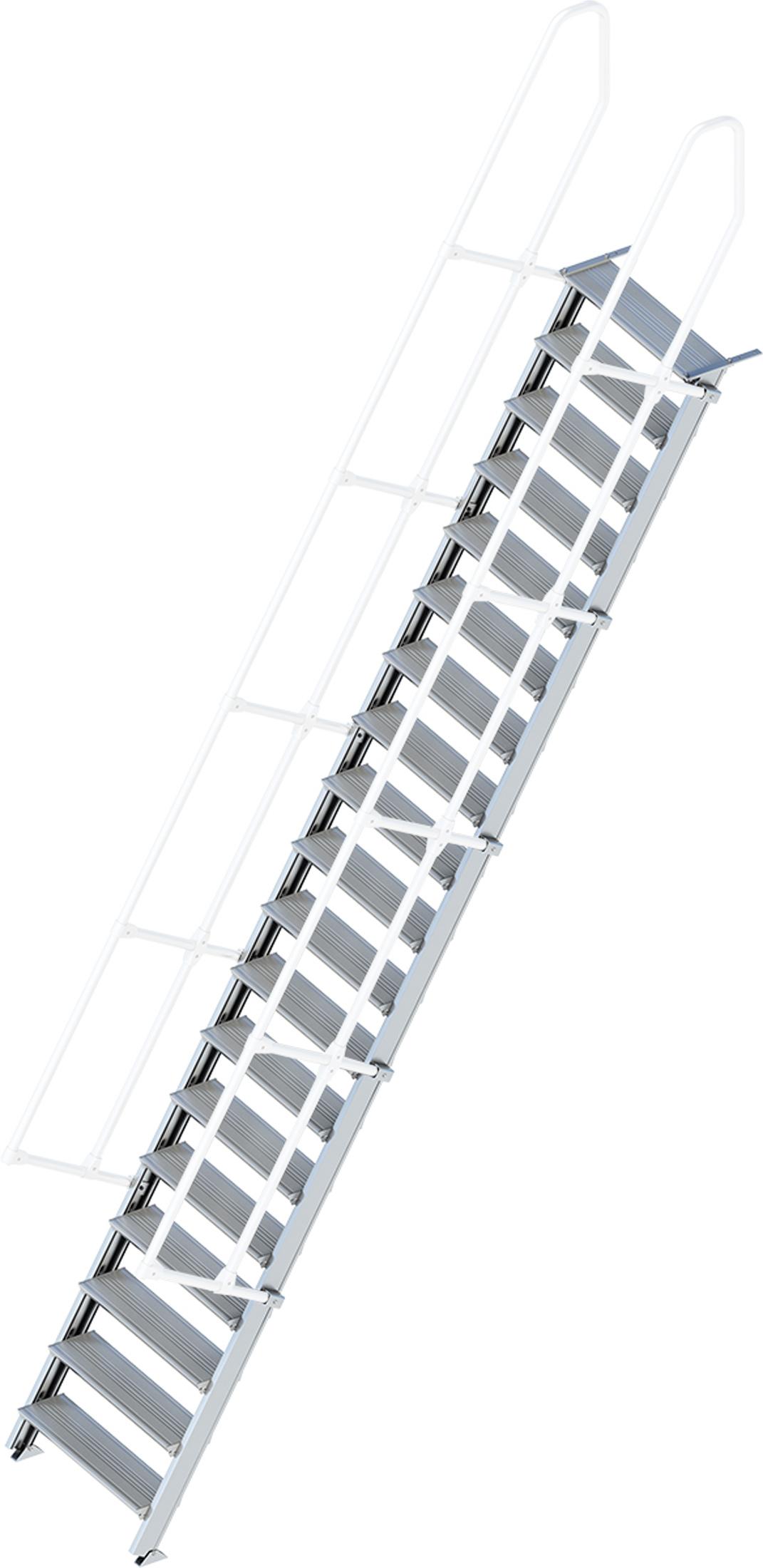Layher Treppe 60° 19 Stufen - 800 mm breit