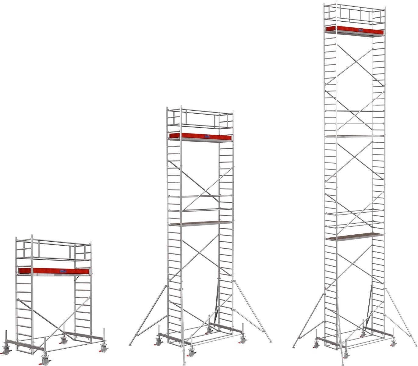 Rollgerüst Krause Stabilo Serie 100 Alu 0,75x2,50m