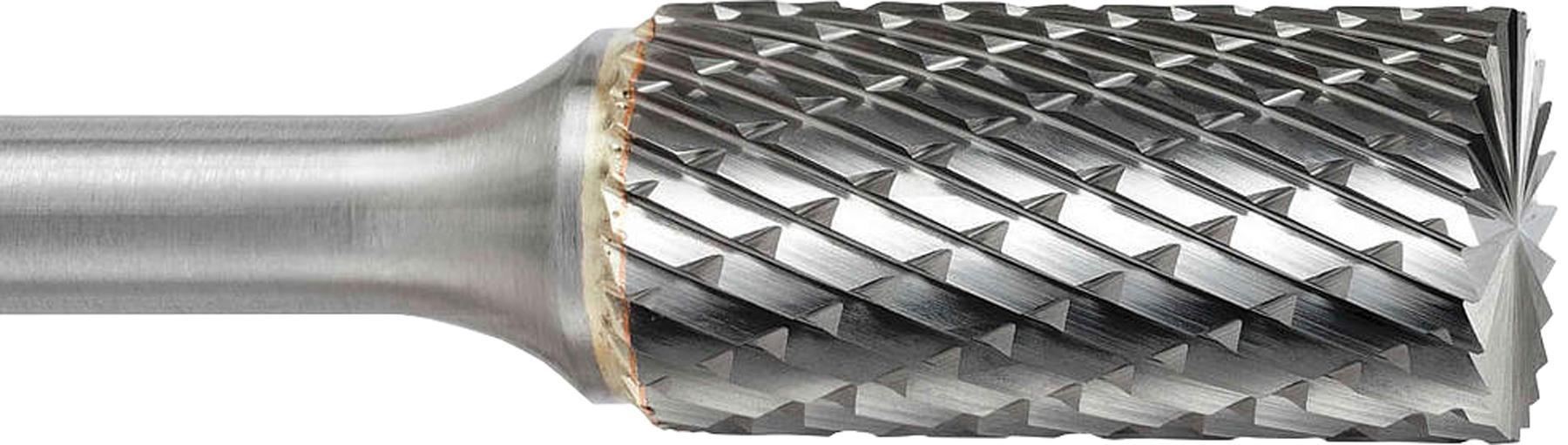 procut Hartmetall-Frässtift Zylinderform mit Stirnverzahnung ZYA-S