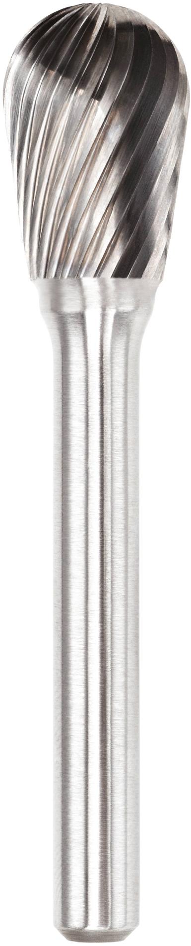 procut Hartmetallfrässtift Combifrässtift DN DN61220-2 Schaft-∅ 6 mm - Kopf-∅ 12 mm - Standardverzahnung (PC-DN61220-2) Bild-02