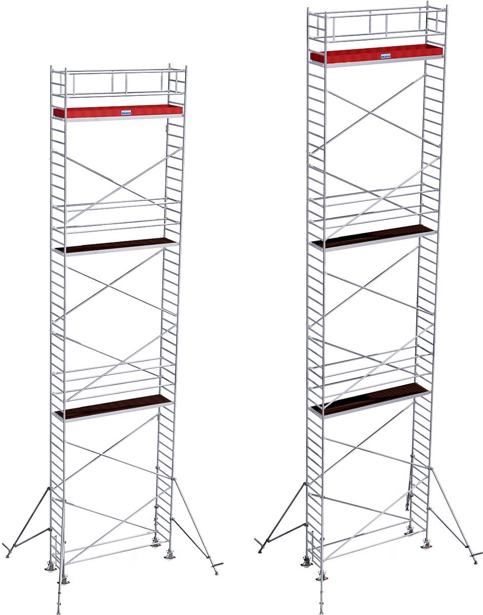 Rollgerüst Krause Stabilo Serie 1000 Alu 0,75x2,50m