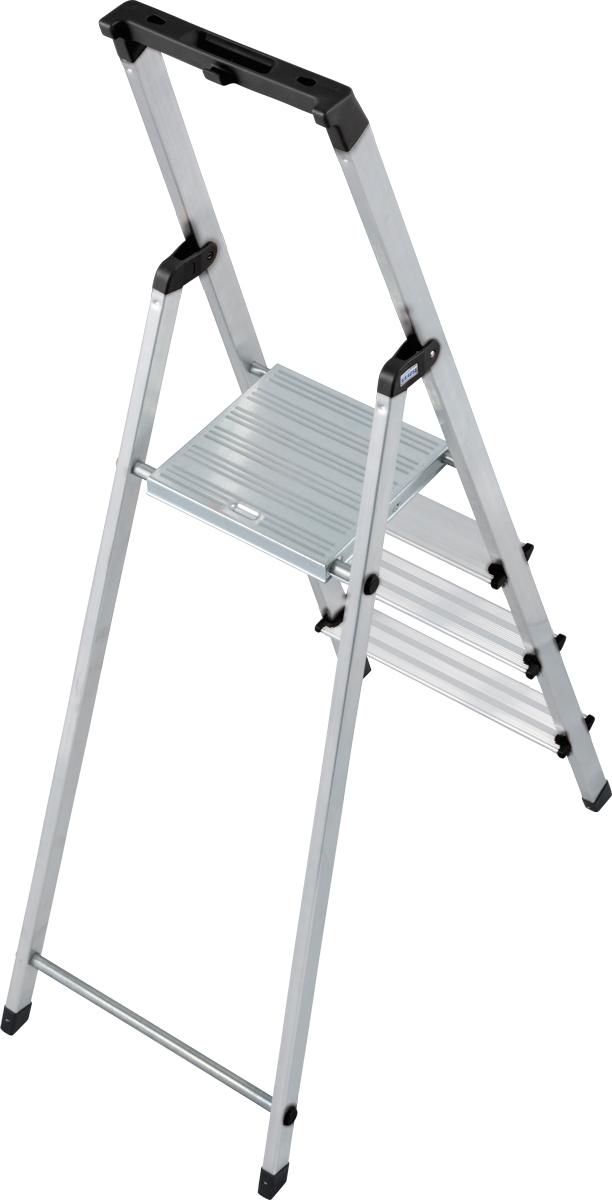 Krause Alu-Stufenstehleiter Solidy® 4 Stufen