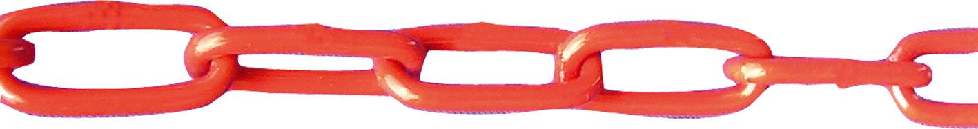 Schake Absperrkette Kunststoff 6 mm rot | weiß  (SK-430.05) Bild-01