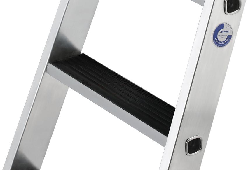 Günzburger Nachrüstsatz Trittauflage clip-step - Set für Leitern mit 2x3 Stufen