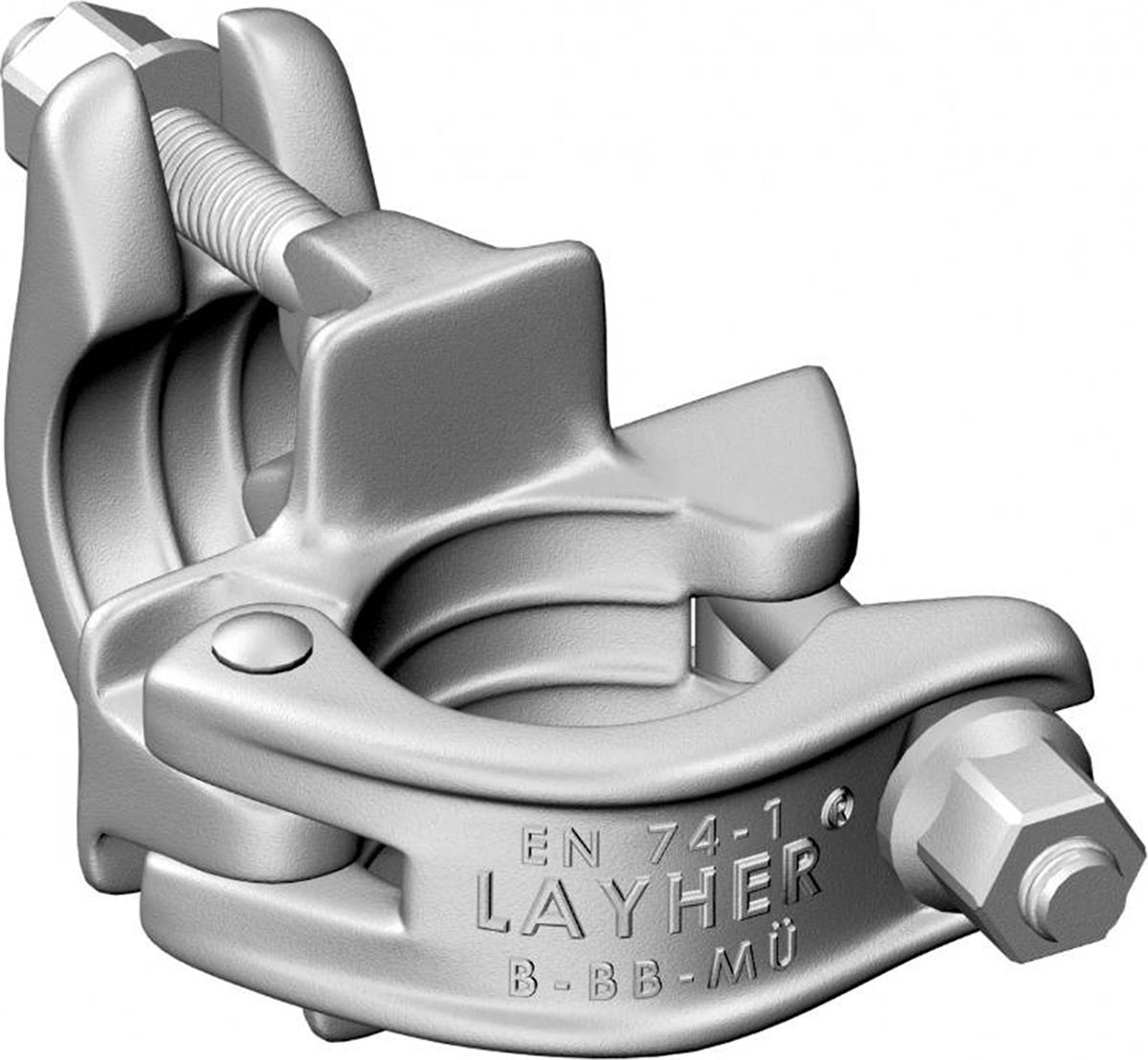 Layher Fahrgerüst Spezialkupplung starr SW 19