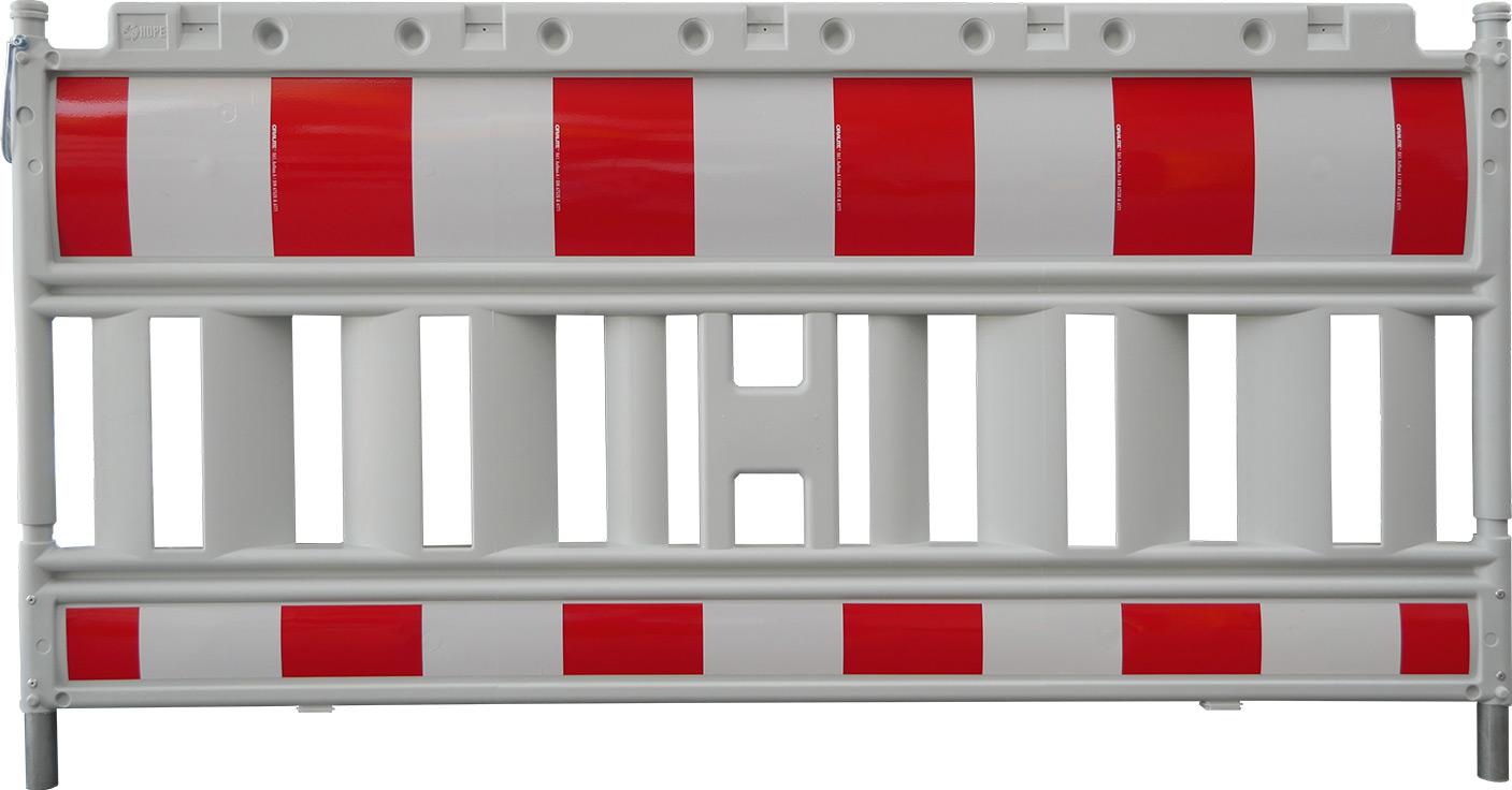 Schake Euro 2 Schrankenzäune Typ NOX mit Folie Typ RA2|B