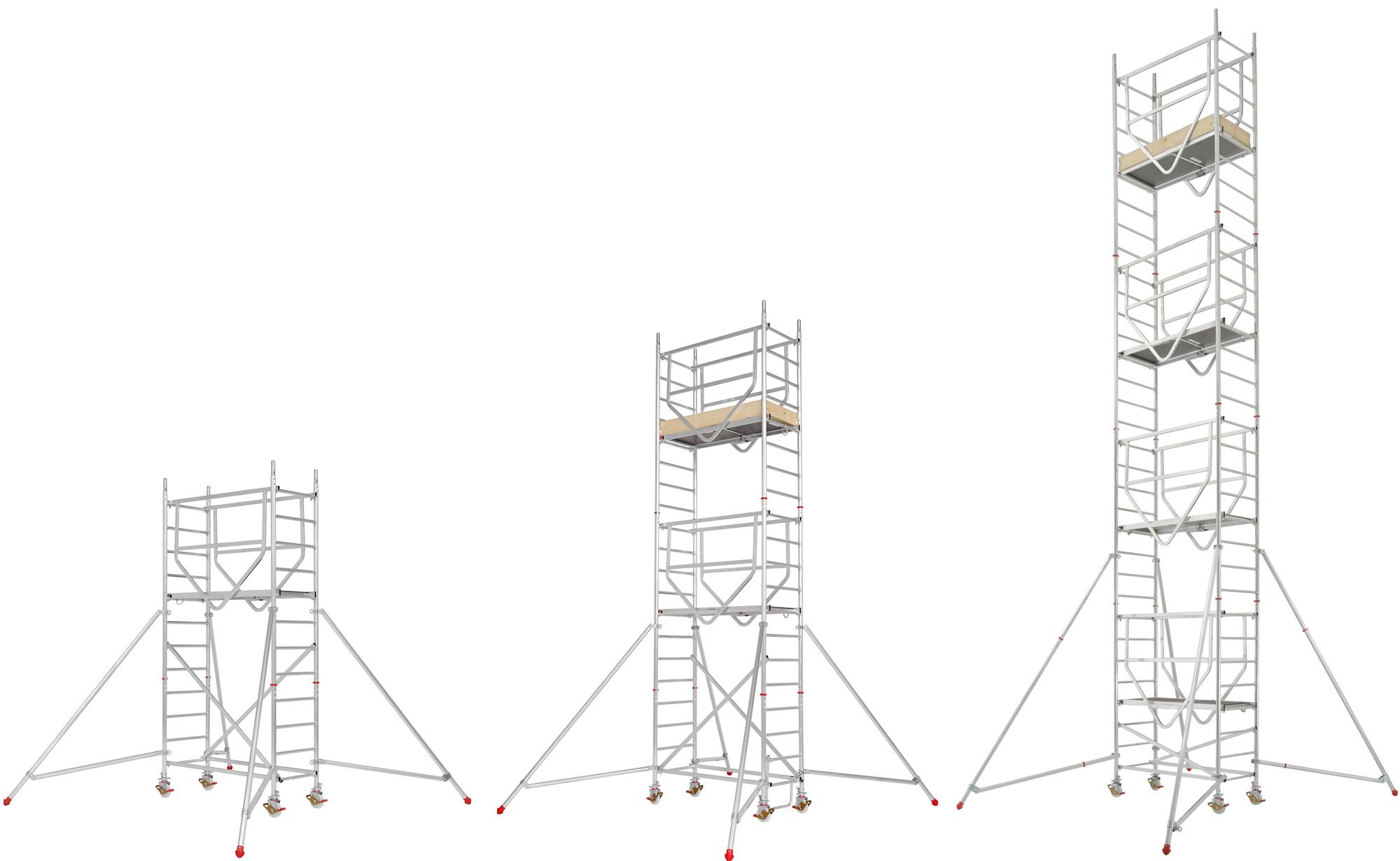 Hymer Fahrgerüst ADVANCED SAFE-T 0,72 x 1,58 m