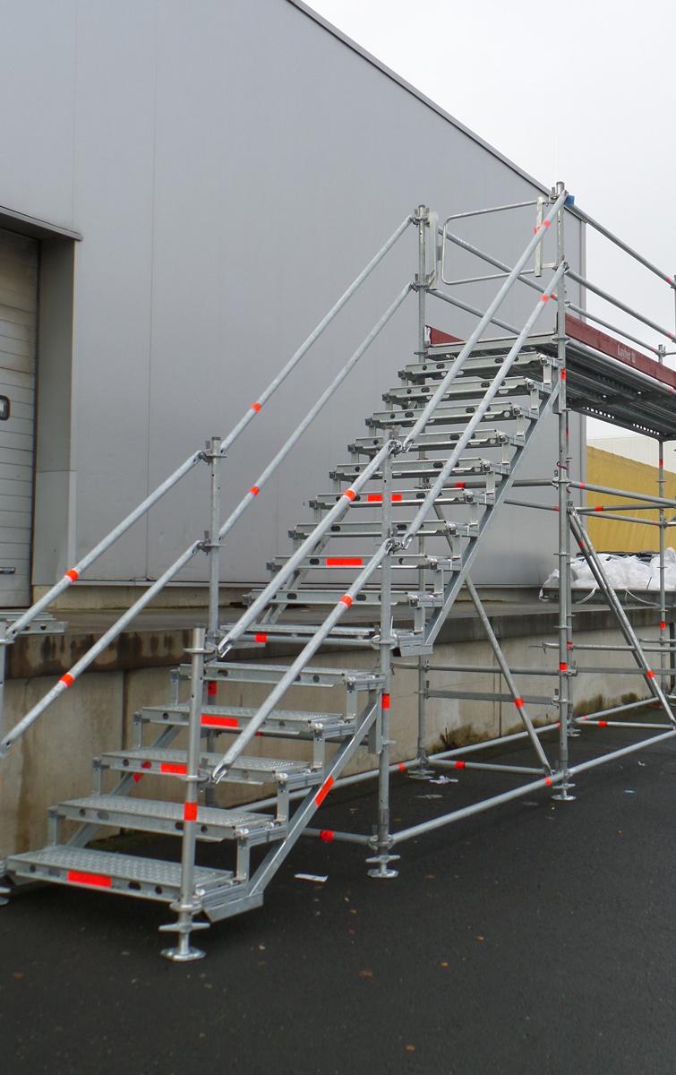 Layher Eisfrei-Gerüst Plattform 6,14 m