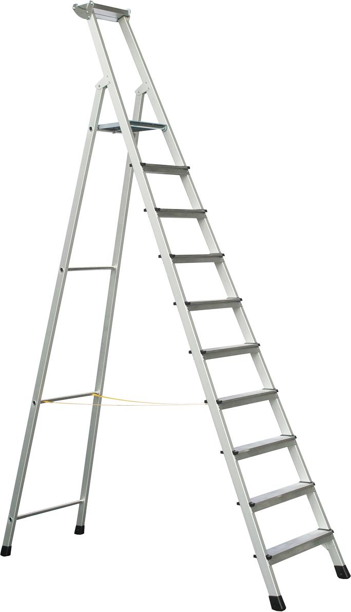 ZARGES Stufen Stehleiter XLstep S - 10 Stufen