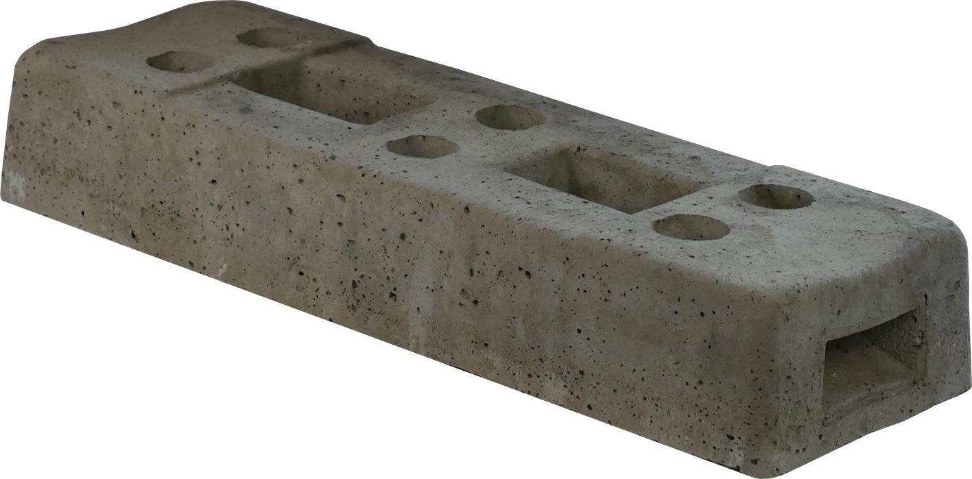 Schake Bauzaunfuß Beton 36,0 kg