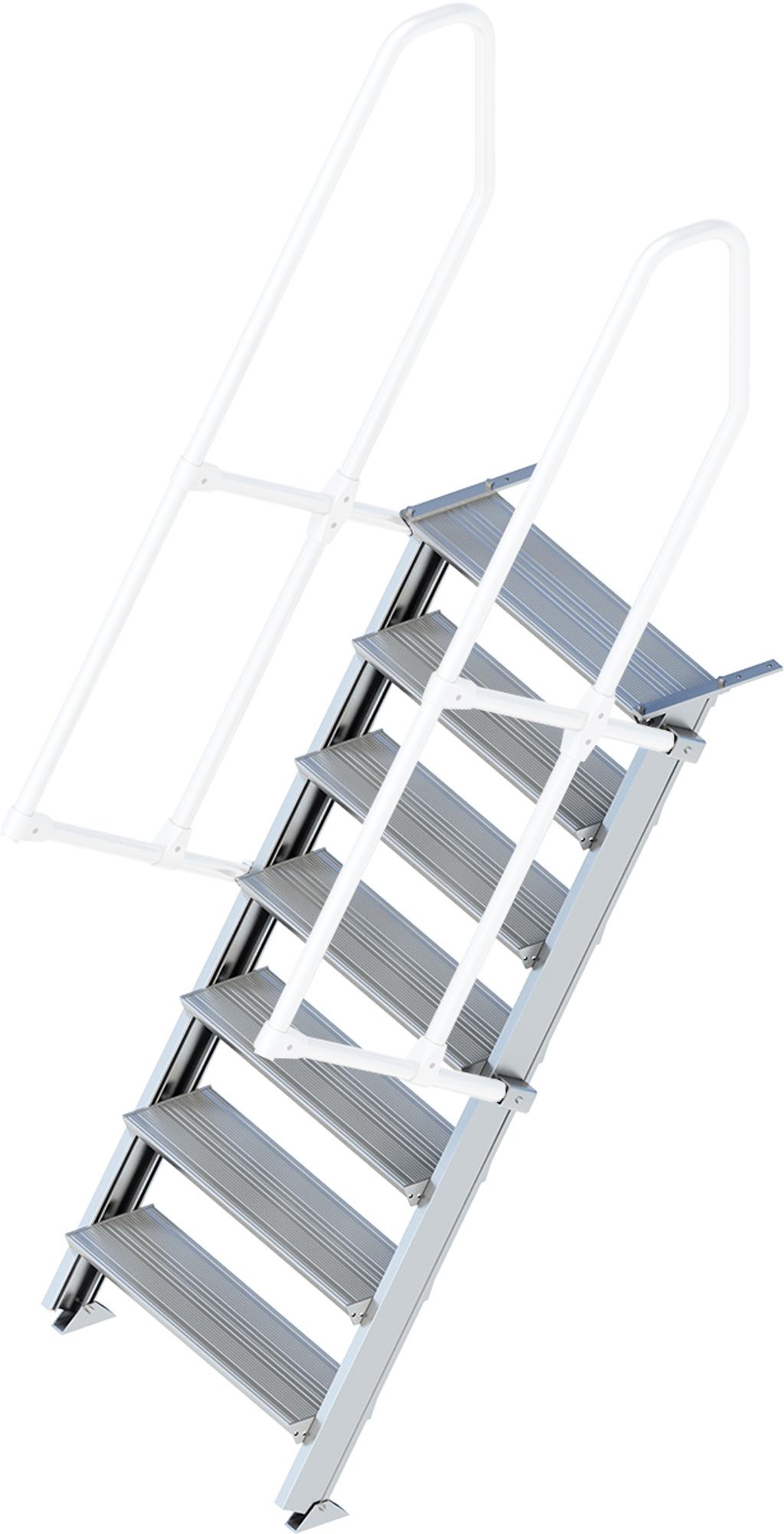 Layher Treppe 60° 7 Stufen - 800 mm breit