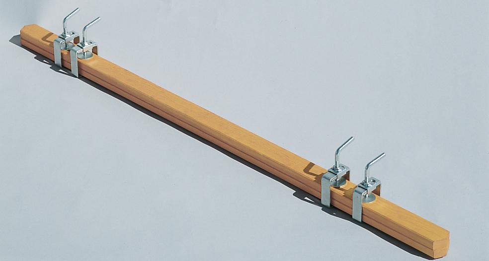 euroline Holz-Verlängerungsholm 1,20 m
