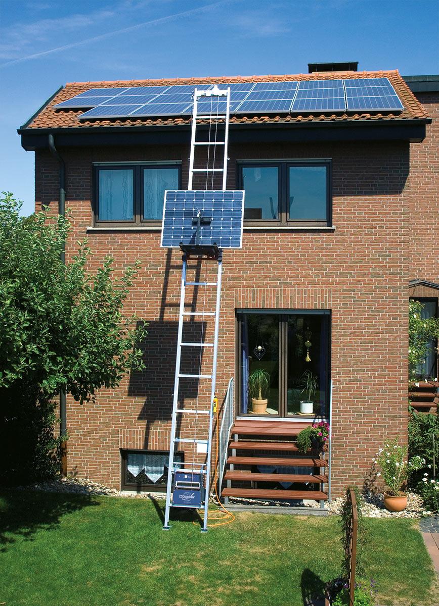 Böcker Solarlift Toplift Basic - Komplettpaket 12,00 m