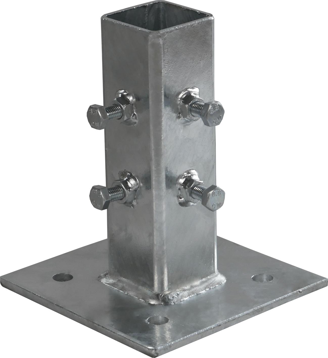 Schake Adaptierung für Beton-Aufstellvorrichtung