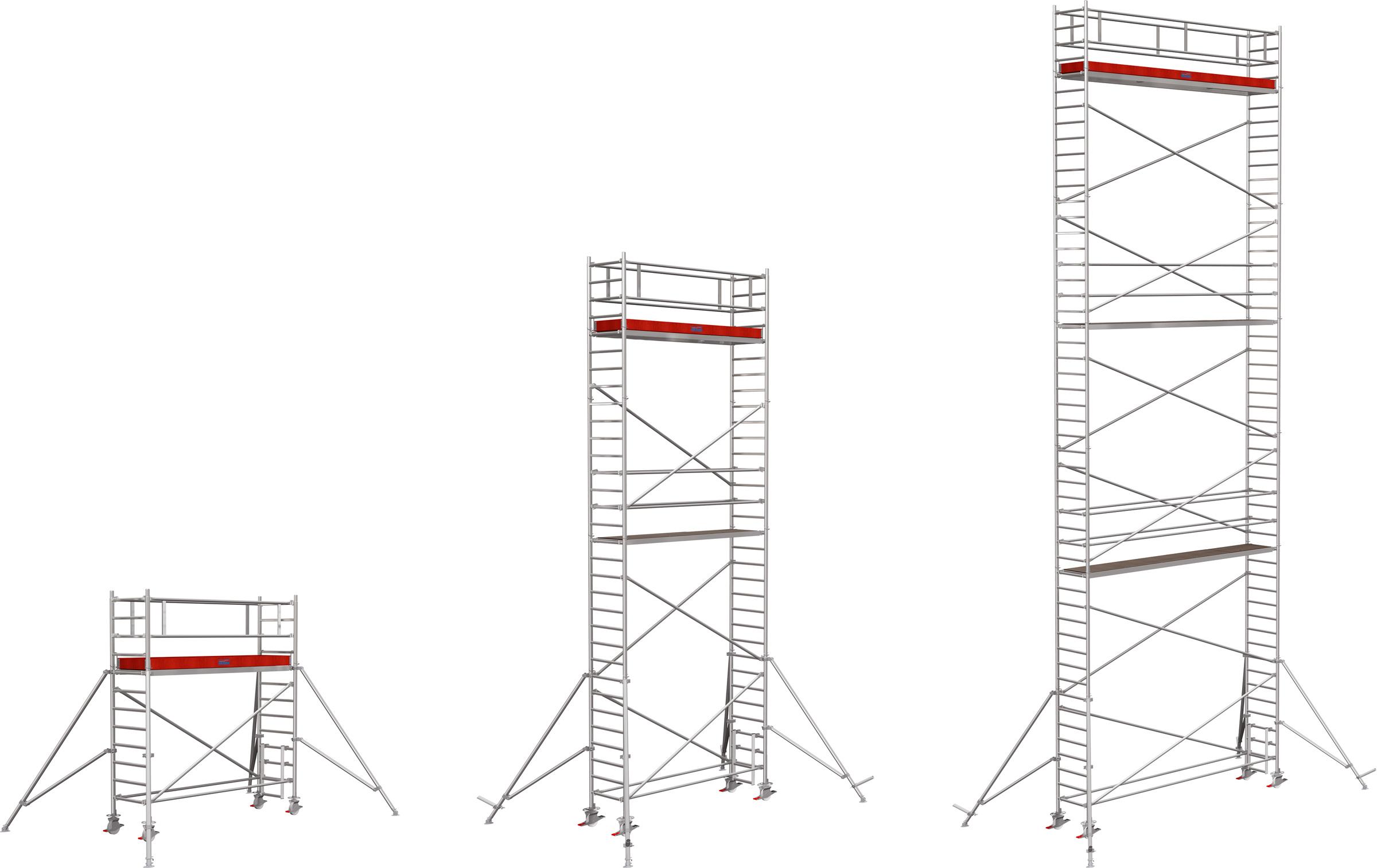 Rollgerüst Krause Stabilo Serie 1000 Alu 0,75x3,00m