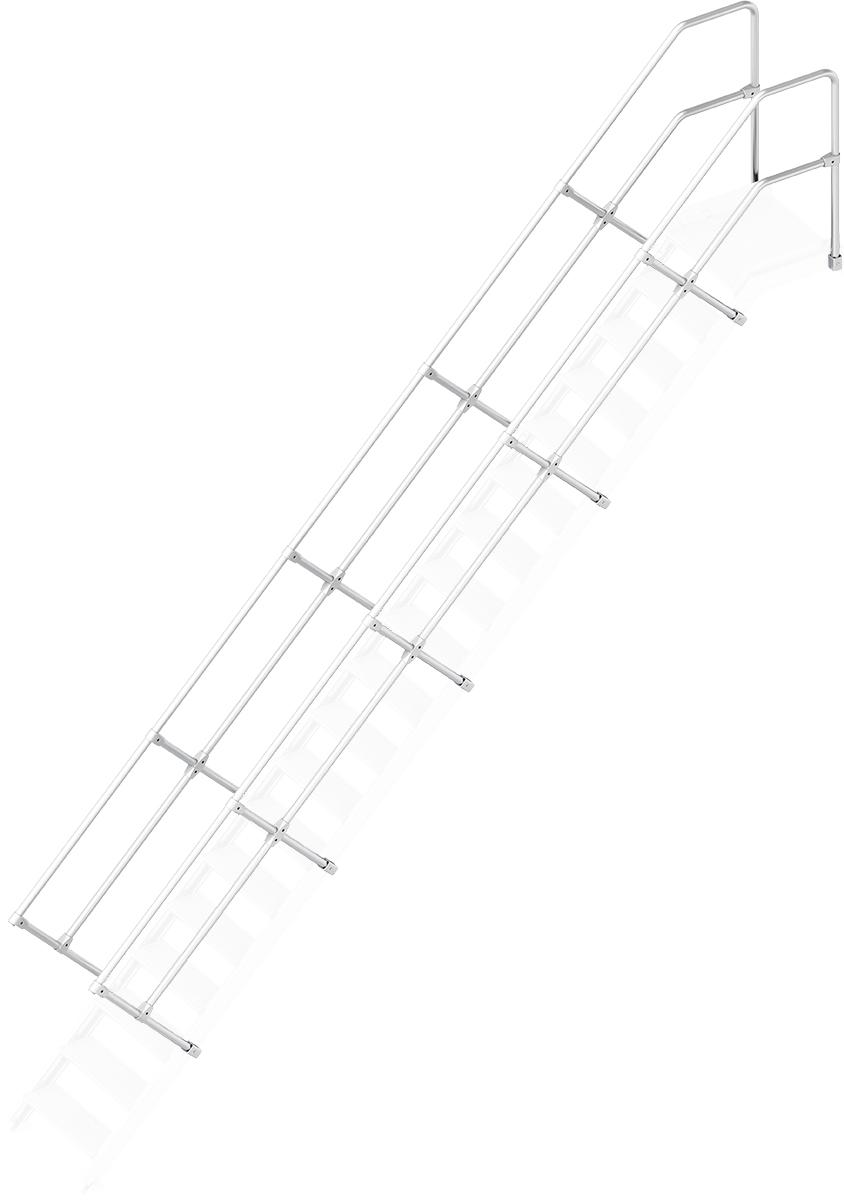 Layher Handlauf Geländer Plattformtreppe 45° 19 Stufen