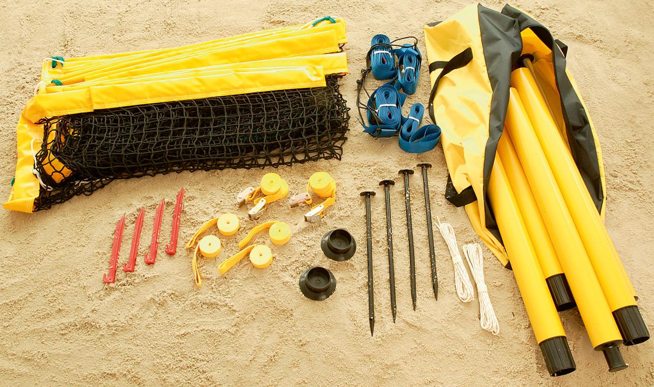 Huck Beach Kombi Set - Netzgröße 8,50 x 0,90 m
